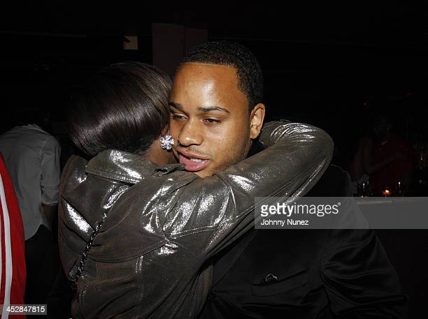 Estelle and Vaughn Anthony attend Vaughn Anthony's Birthday Bash Hosted by John Legend on May 22 2008 in New York City