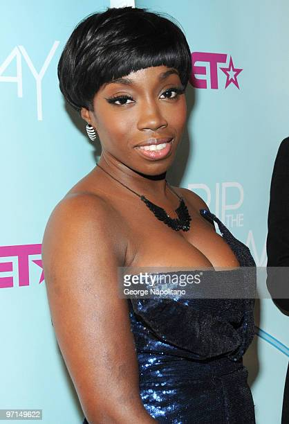 Estelle attends BET's Rip The Runway 2010 at the Hammerstein Ballroom on February 27 2010 in New York City