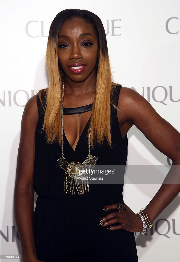 Estelle attends Dramatically Different Party Hosted By Clinique at 620 Loft & Garden on June 18, 2013 in New York City.
