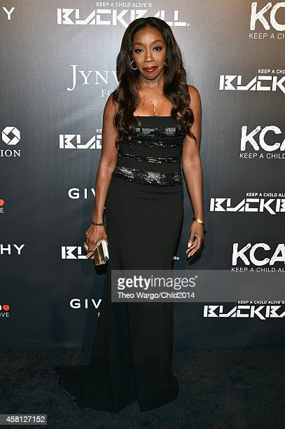 Estelle attends Keep A Child Alive's 11th annual Black Ball at Hammerstein Ballroom on October 30 2014 in New York City