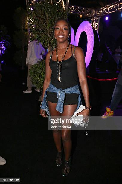 Estelle attends the 2014 Essence Music Festival on July 6 2014 in New Orleans Louisiana
