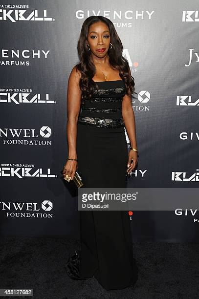 Estelle attends the 9th annual Keep A Child Alive Black Ball at Hammerstein Ballroom on October 30 2014 in New York City