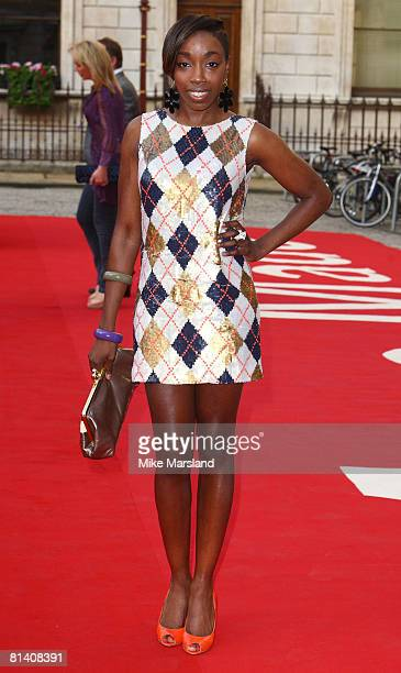 Estelle attends The Royal Academy of Arts Summer Exhibition at Royal Academy of Arts on June 4 2008 in London UK