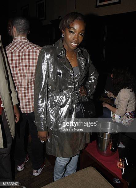 Estelle attends Vaughn Anthony's Birthday Bash Hosted by John Legend on May 22 2008 in New York City
