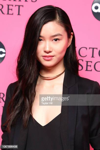 Estelle Chen attends the 2018 Victoria's Secret Fashion Show Viewing Party at Spring Studios on December 2 2018 in New York City