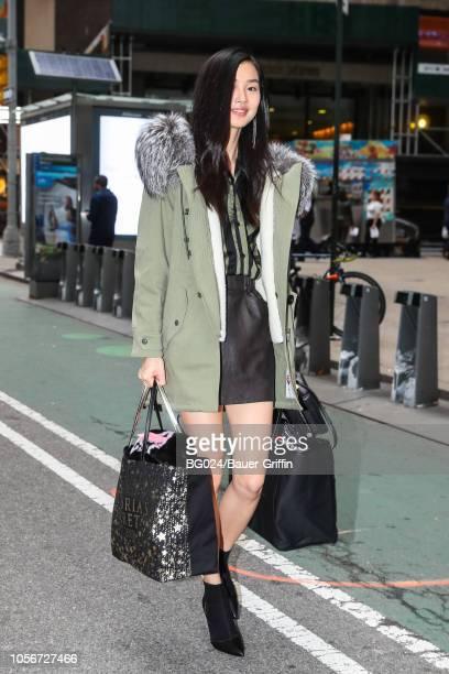 Estelle Chen is seen on November 02 2018 in New York City
