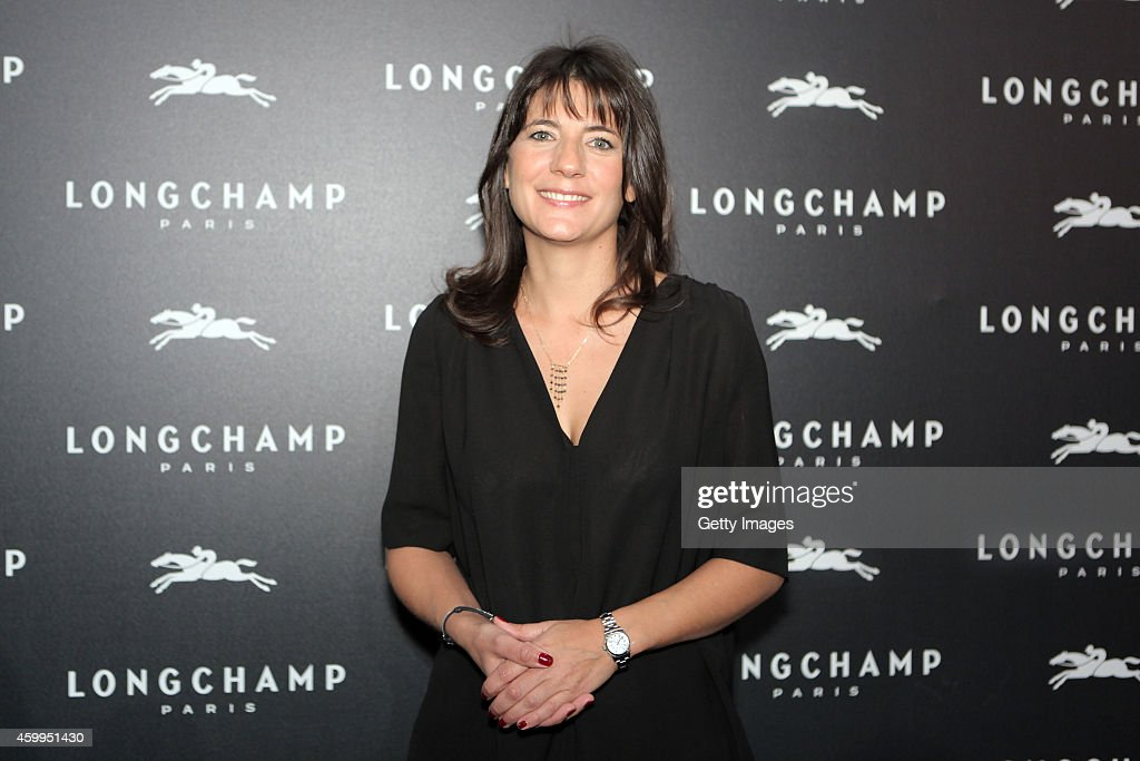 Longchamp - Elysees Lights On Party Boutique Launch - Photocall : News Photo
