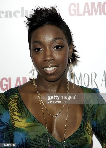 Estelle during 2005 Glamour Women of the Year Awards Inside Arrivals at Berkeley Square in London Great Britain