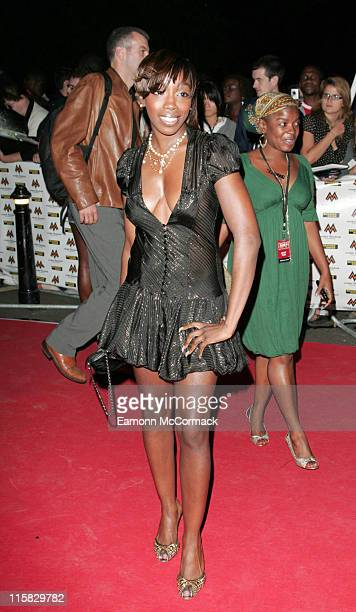Estelle during MOBO Awards 2006 Outside Arrivals in London Great Britain