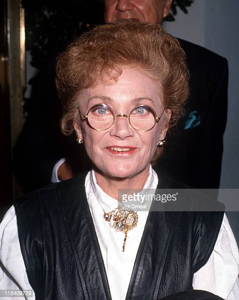 Estelle Getty during Sylvester Stallone's 45th Birthday Party at Chasen's Restaurant in Beverly Hills, California, United States.