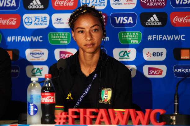 FRA: Cameroon Press Conference - FIFA Women's World Cup 2019 France