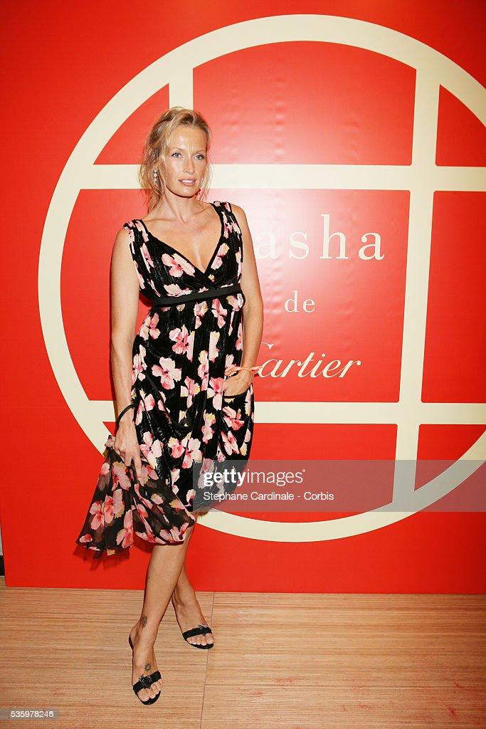 Estelle Lefebure at the 'Cartier Party' at the 31st American Deauville Film Festival.