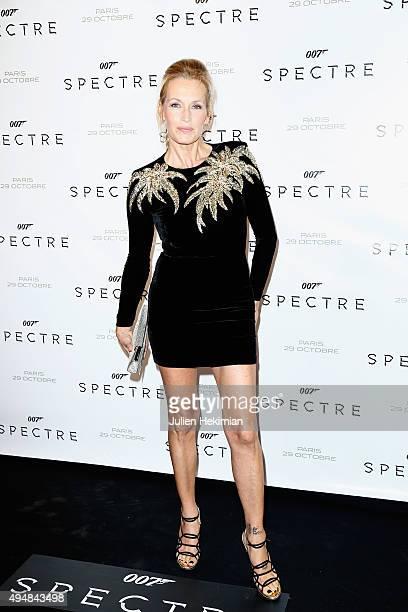 Estelle Lefebure attends '007 Spectre' Paris Premiere at Le Grand Rex on October 29 2015 in Paris France
