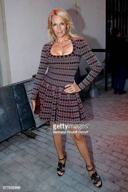 Estelle Lefebure attends the 'Alaia' Azzedine Alaia Perfum Launch Party on May 21 2015 in Paris France