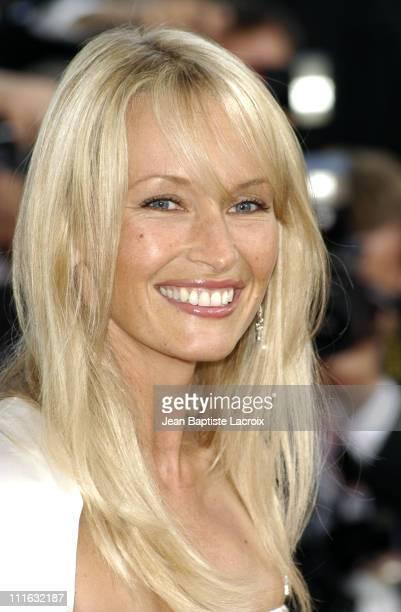 Estelle Lefebure during 2003 Cannes Film Festival 'Les Egares' Premiere at Palais Des Festival in Cannes France