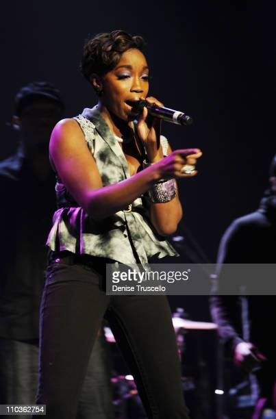 Estelle performs at The Pearl in The Palms Resort and Casino on January 10, 2009 in Las Vegas, Nevada.