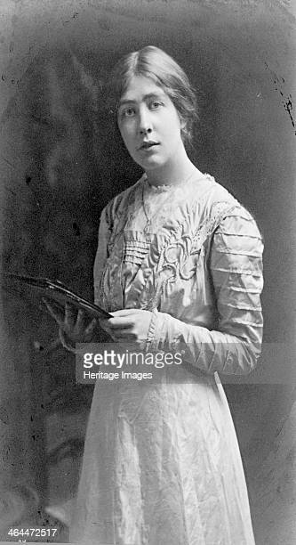 Estelle Sylvia Pankhurst Honorary Secretary organiser speaker and author c1909 Sylvia was an accomplished artist and designer who was trained at the...