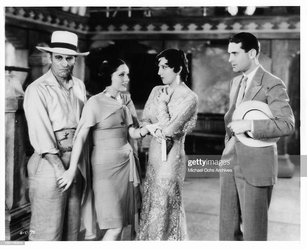 Lon Chaney And Lupe Velez In 'Where East Is East' : News Photo