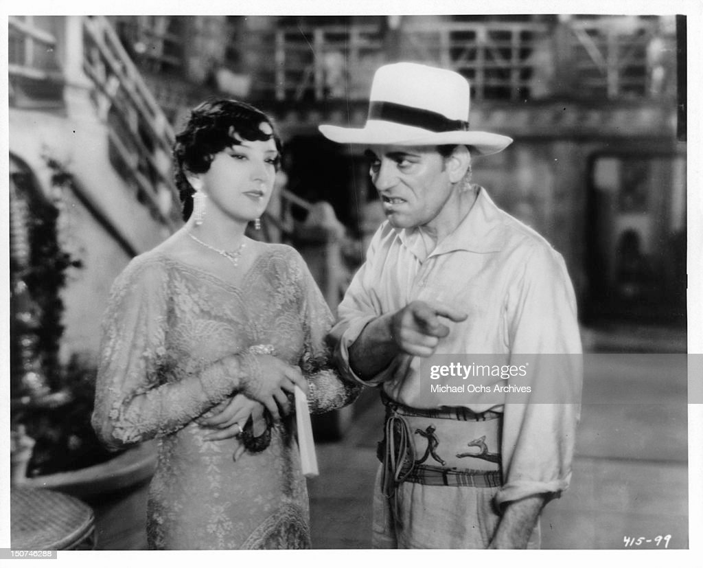Estelle Taylor And Lon Chaney In 'Where East Is East' : News Photo