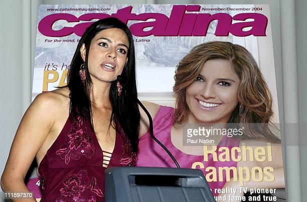 Estephania LeBaron during Catalina Magazine Party October 14 2004 at Union Station in Chicago Illinois United States