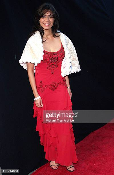 Estephania LeBaron during The 74th Annual Hollywood Christmas Parade Arrivals at Hollywood Roosevelt Hotel in Hollywood California United States