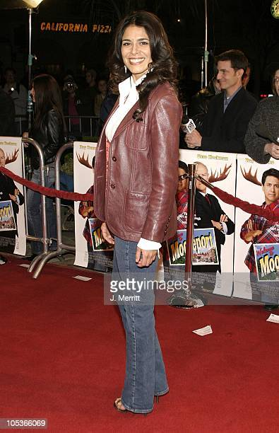 Estephania LeBaron during Welcome to Mooseport World Premiere at The Mann Village Theatre in Westwood California United States