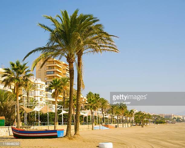 Estepona beach, Costa del Sol, Spain