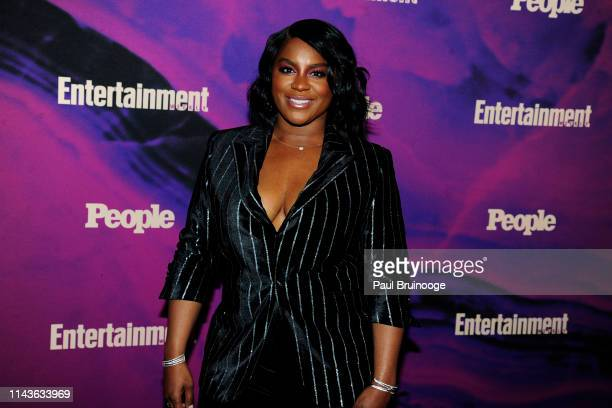 Ester Dean attends Entertainment Weekly And People Celebrate The New York Upfronts at Union Park NYC on May 13 2019 in New York City