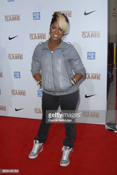 Ester Dean attends LIONSGATE PRESENTS LOS ANGELES SPECIAL SCREENING OF MORE THAN A GAME at Pacific Theaters at the Grove on September 26 2009 in Los...