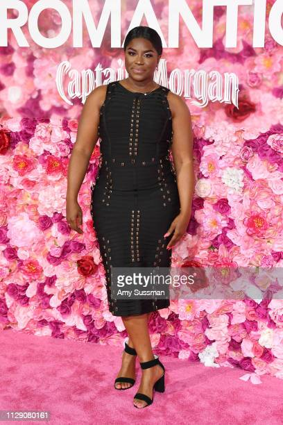 Ester Dean attends the premiere of Isn't It Romantic at The Theatre at Ace Hotel on February 11 2019 in Los Angeles California