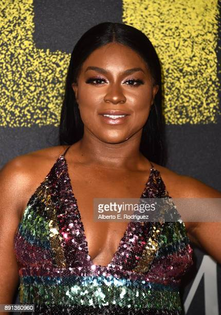 Ester Dean attends the premiere of Universal Pictures' Pitch Perfect 3 at Dolby Theatre on December 12 2017 in Hollywood California