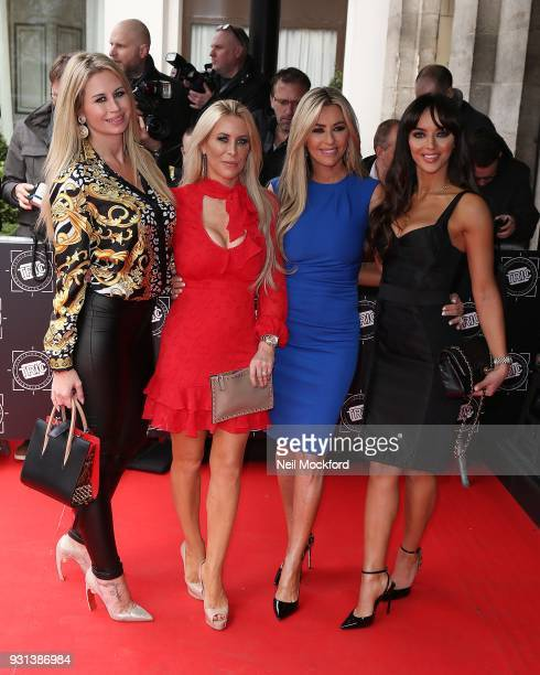 Ester Dee Rachel Lugo Dawn Ward and Nermina PietersMekic attend the TRIC Awards 2018 held at The Grosvenor House Hotel on March 13 2018 in London...