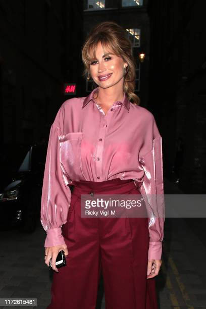 Ester Dee seen attending the launch of Palones on Langley Street Covent Garden on September 05 2019 in London England