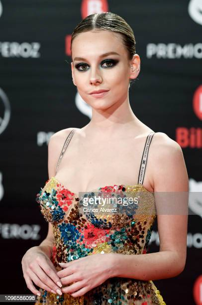Ester Exposito attends during Feroz awards red carpet on January 19 2019 in Bilbao Spain
