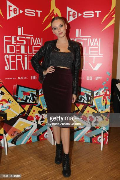 Ester Exposito attends Fest at Santeria Social Club on October 12 2018 in Milan Italy