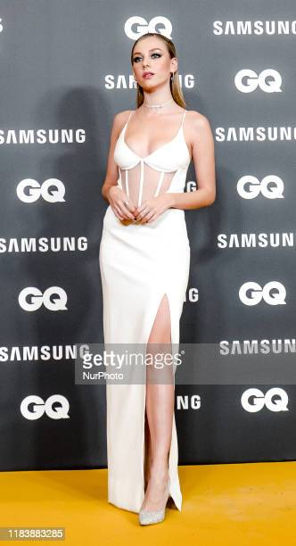Ester Exposito attends 'GQ Men Of The Year' awards 2019 at Westin Palace Hotel on November 21 2019 in Madrid Spain