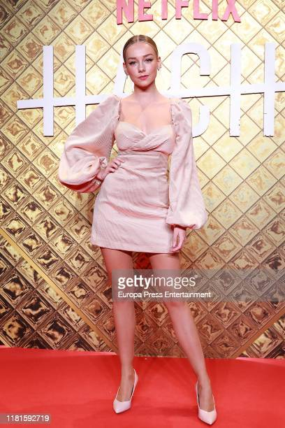 Ester Exposito attends 'Hache' premiere by Netflix at Paz Cinema on October 16 2019 in Madrid Spain