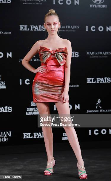 Ester Exposito attends 'ICON' magazine awards at Real Fabrica de Tapices on October 09 2019 in Madrid Spain