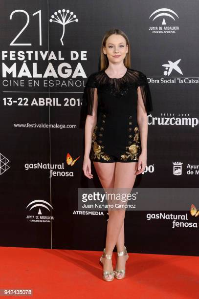 Ester Exposito attends Malaga Film Festival 2018 presentation at Circulo de Bellas Artes on April 5 2018 in Madrid Spain