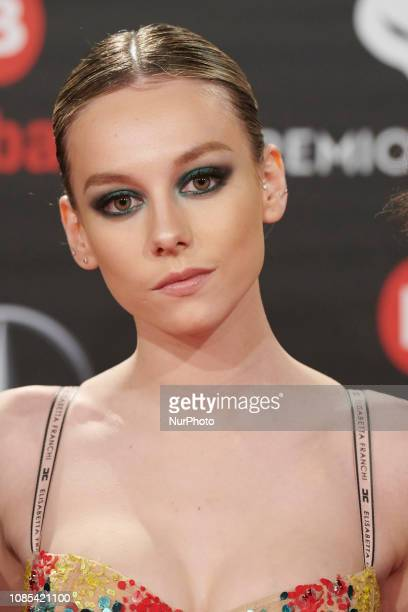 Ester Exposito attends the Feroz Awards 2019 Red Carpet at Bilbao Arena in Bilbao Spain on Jan 19 2019