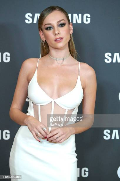 Ester Exposito attends the GQ Men Of The Year Awards 2019 photocall at The Westin Palace Hotel in Madrid Spain on Nov 21 2019