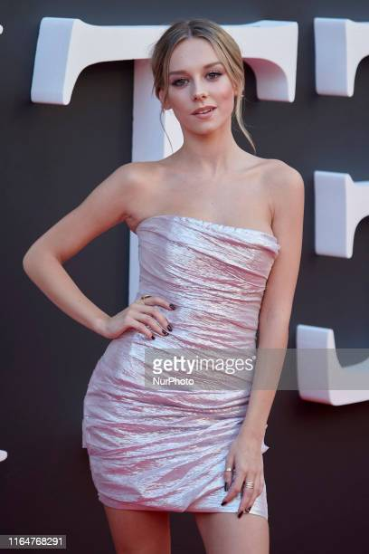 Ester Exposito attends the Netflix 'Elite' season 2 premiere at Callao Cinema in Madrid Spain on Aug 29 2019
