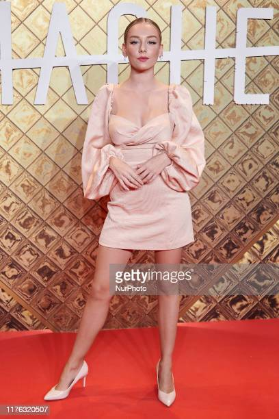 Ester Exposito attends the Netflix's 'Hache' premiere at Paz Cinema in Madrid Spain on Oct 16 2019