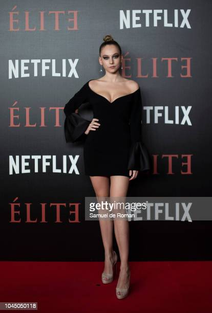 Ester Exposito attends the World Premiere of Netflixs 'Elite' at Nubel on October 2 2018 in Madrid Spai