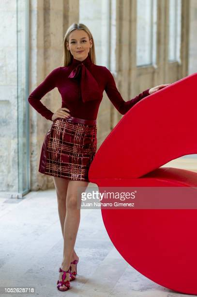 Ester Exposito attends 'Tu Hijo' photocall during 63rd Seminci International Film Week of Valladolid on October 20 2018 in Valladolid Spain