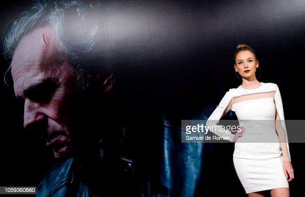 Ester Exposito attends 'Tu Hijo' premiere at the Capitol cinema on November 8 2018 in Madrid Spain