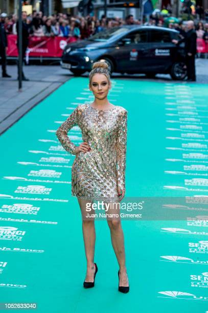 Ester Exposito attends 'Tu Hijo' premiere during 63rd Seminci International Film Week of Valladolid on October 20 2018 in Valladolid Spain