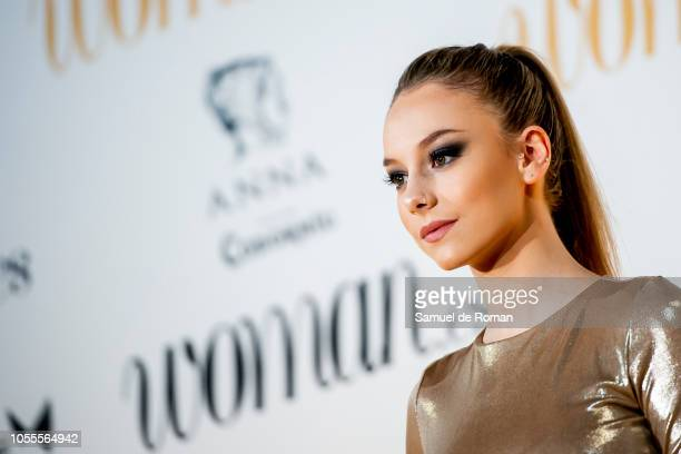 Ester Exposito attends Woman awards 2018 at the Casino de Madrid on October 30 2018 in Madrid Spain