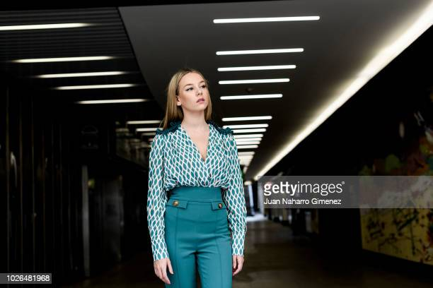 Ester Exposito poses during a portrait session on September 3 2018 in Madrid Spain