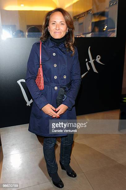 Ester Mieli attends Double Life book launch at the Boutique Fay on April 22 2010 in Rome Italy